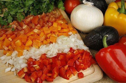 Techniki krojenia warzyw: technika Matignon.