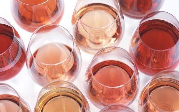 rodzaje win różowych