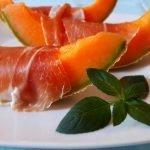 Melon z szynką parmeńską