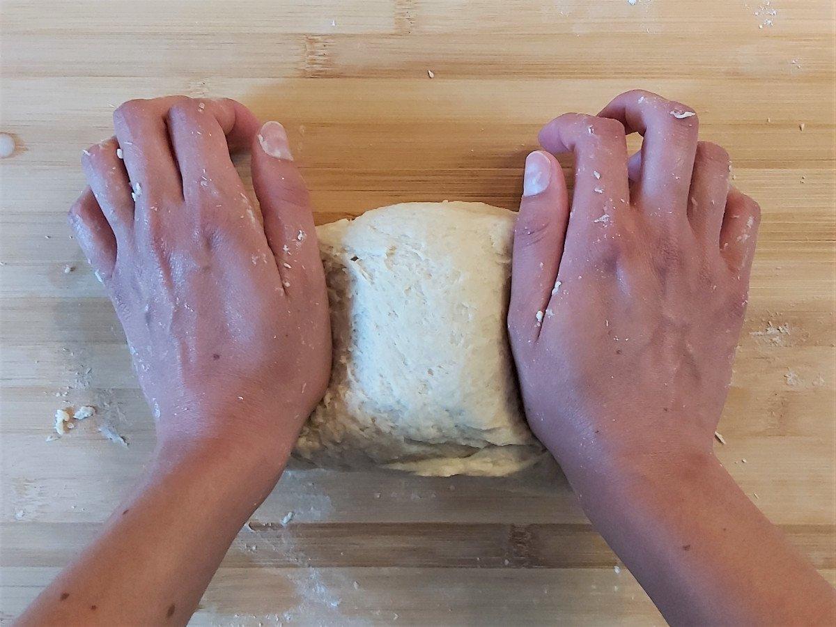 piadina romagnola wyrabianie ciasta