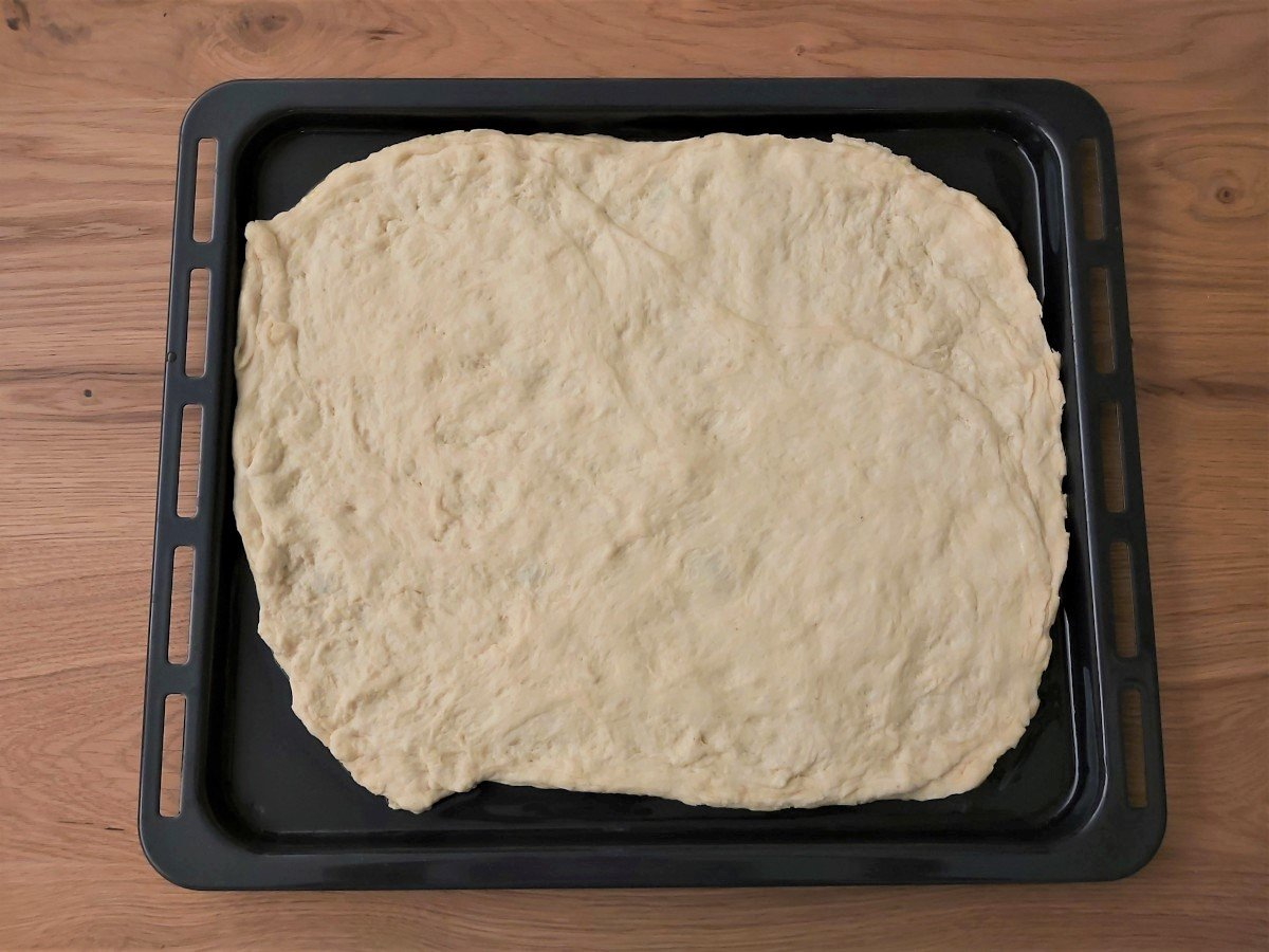 focaccia genovese ciasto na blasze