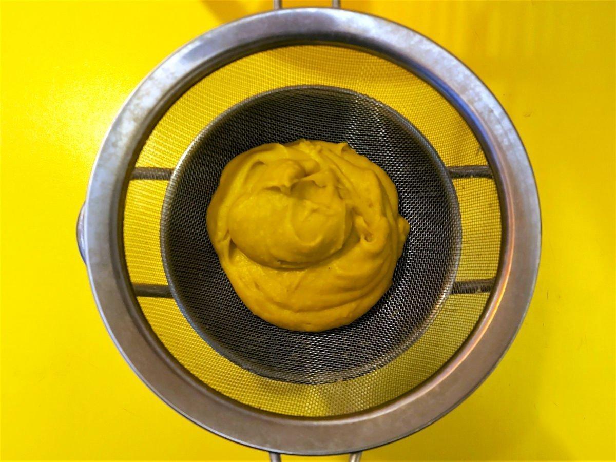 zupa z dyni przecieranie przez sito